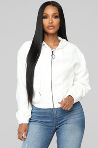 Waverly Jacket - Ivory