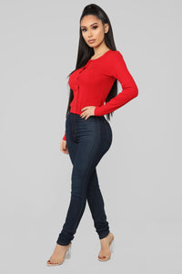 Single Life Top - Red