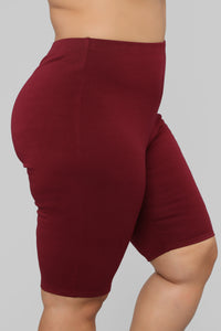Leyla Long Sleeve Lounge Set - Burgundy Angle 15
