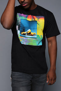 Stolen Whip Short Sleeve Tee - Black/combo Angle 1