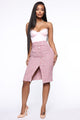 No Bad Days Skirt - Pink
