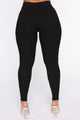 Wrong Way Sweater Pant Set - Black