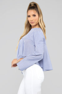 Day Dreamer Top - Blue/Combo