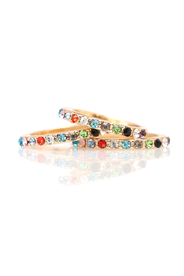 Different Flavors Ring Set - Multi
