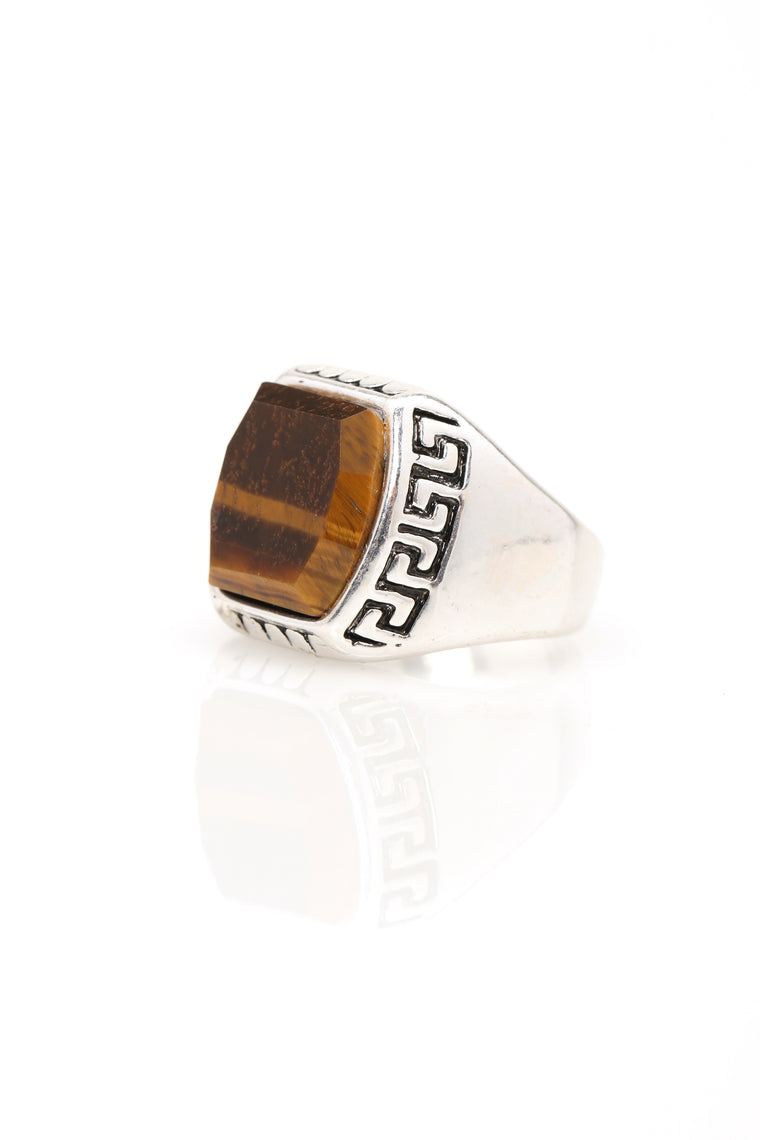 Power Trip Ring - Silver