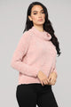 Margaret Turtleneck Sweater - Pink