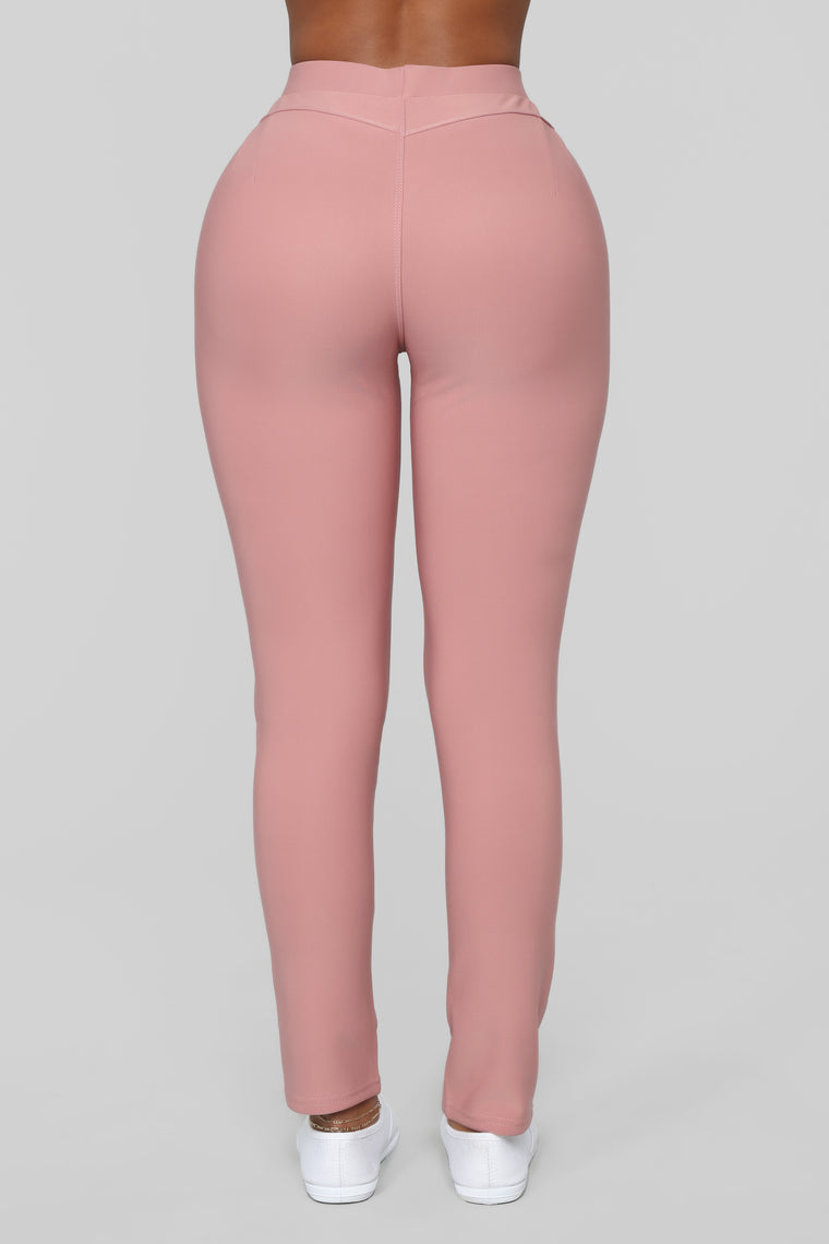 Not Your Average Booty Lifting Leggings - Mauve