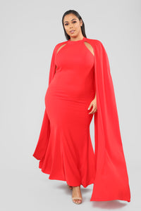 More Than Capable Dress - Red