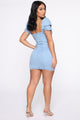 Jeanetically Gifted Denim Dress - Medium Wash