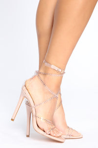 Have It My Way Heels - Nude
