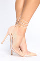 LA Nights Heeled Sandal - Camel