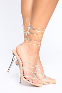 Free To Be Myself Heeled Sandals - Nude