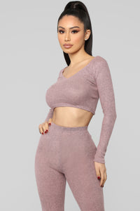 My Favorite Fit Pant Set - Pink