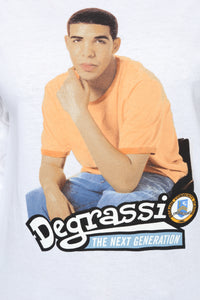 Degrassi Long Sleeve Top - White