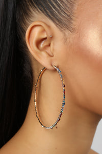 Color It In Earrings - Multi