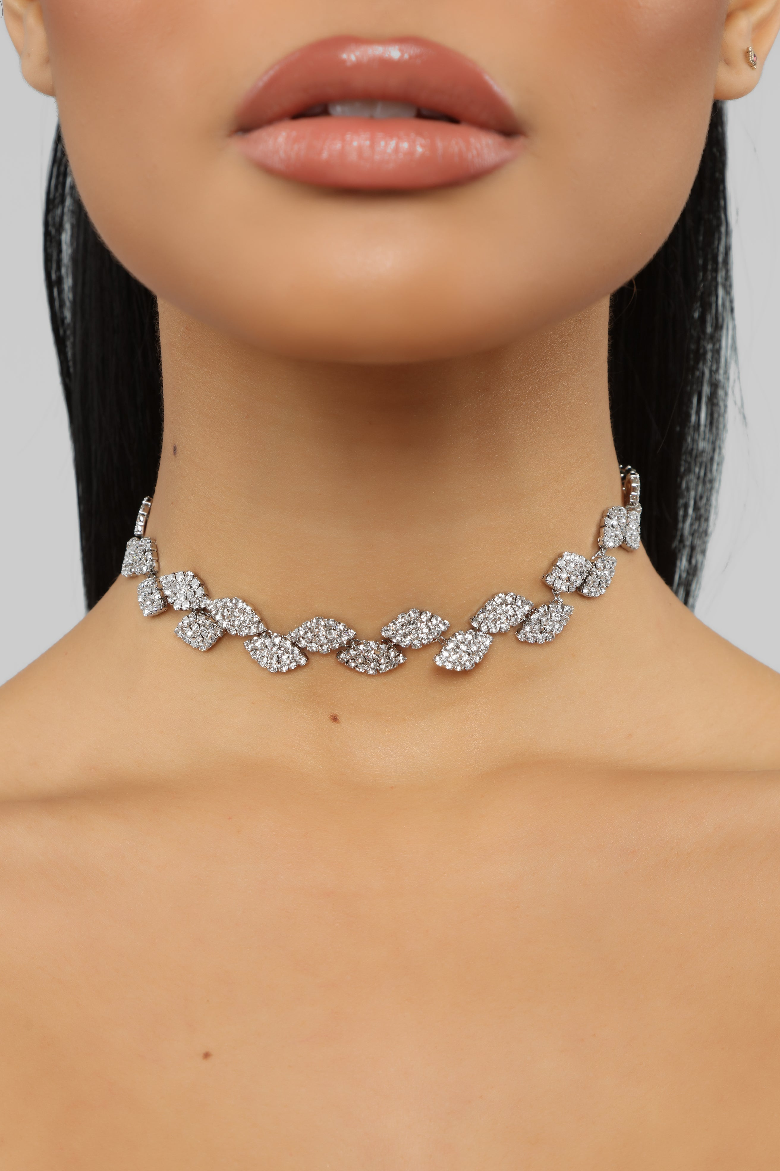 14dfc0599edb2 House Of Diamonds Necklace - Silver