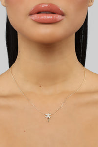 Day In Paradise Necklace - Gold