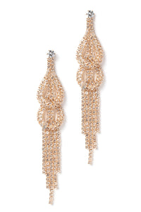 Drip Drop Earrings - Gold Angle 2