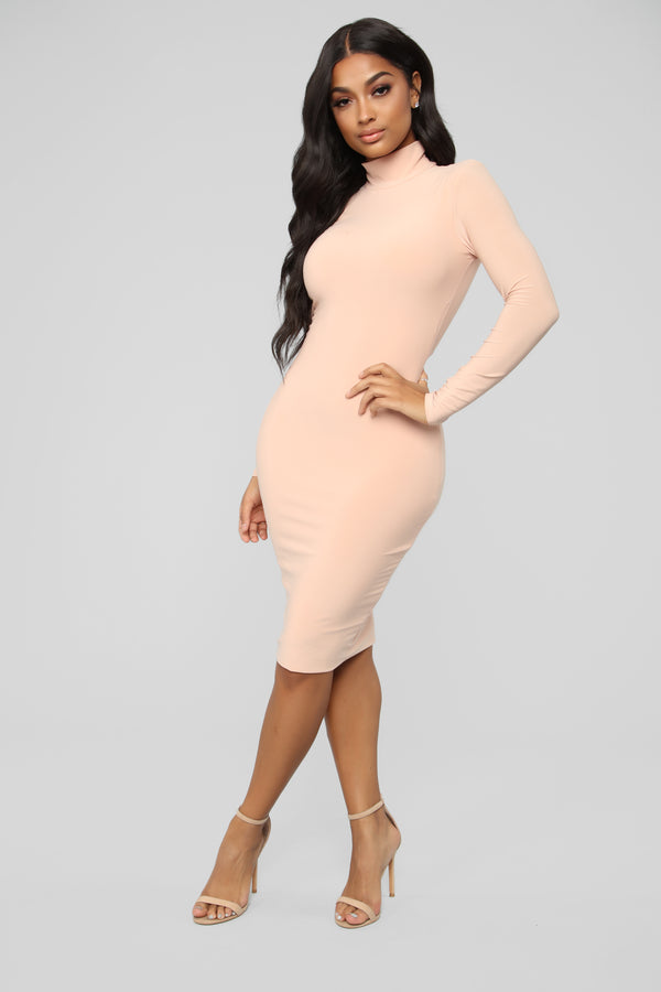 03861e71f23 Love Your FN Body Dress - Nude