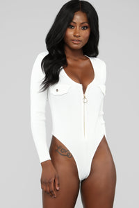 Always Had High Hopes Bodysuit - Off White