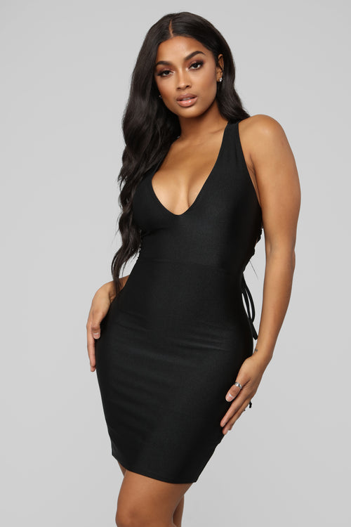 Short Black Mini Dress