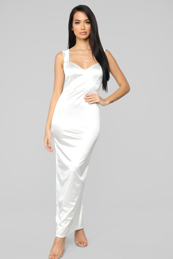 c61a96fa68d Close Up Ready Dress - Off White