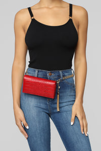 All Hail The Scale Fanny Pack - Red