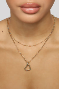 Close To Your Heart Necklace - Gold