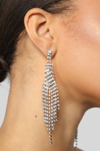 The Chandelier Earrings - Silver