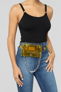 Chain The Attitude Fanny Pack - Yellow