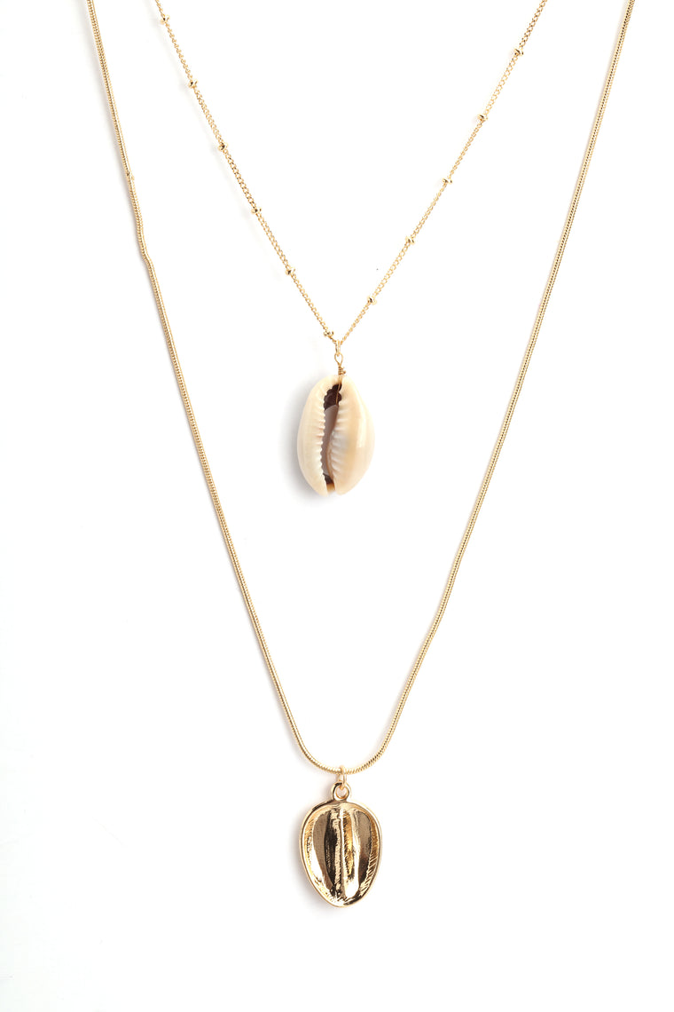At The Beach Necklace - Gold