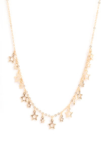 Twinkle Twinkle Necklace - Gold Angle 1