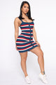 Getting Personal Mini Dress - Multi Color
