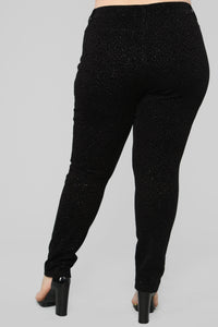 Shine All Day Legging - Black Angle 6