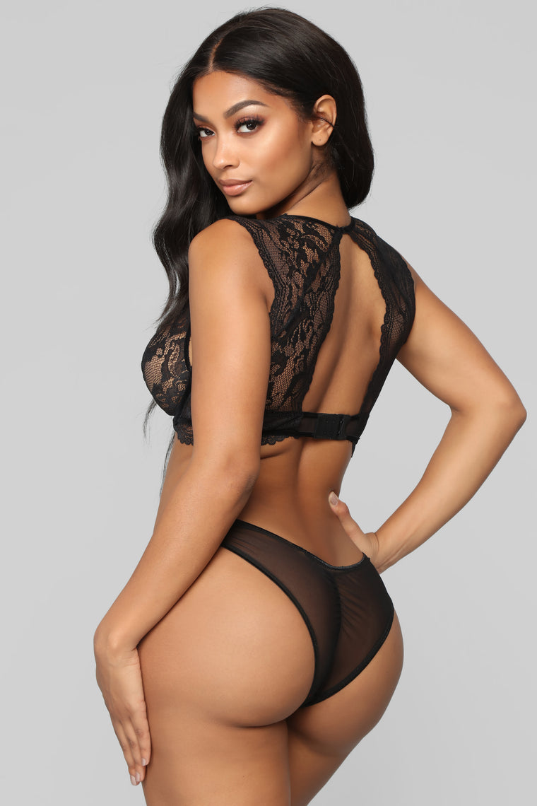 Delicate Dreams 2Pc Set - Black