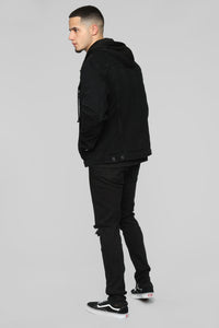 Harlow Denim Jacket - Black