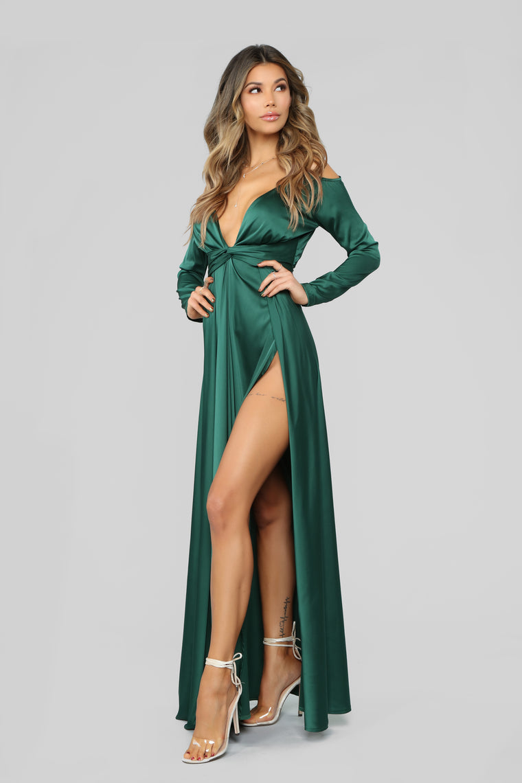 Hurt To Look Dress - Green