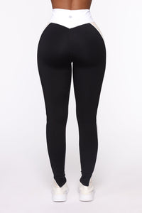 Prime Time Active Legging In Sculpt Tech - Black/combo