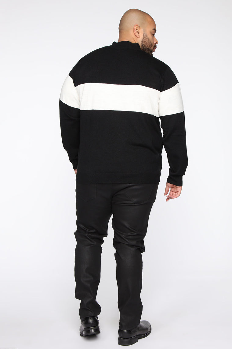 Rodrigo Sweater - Black/White