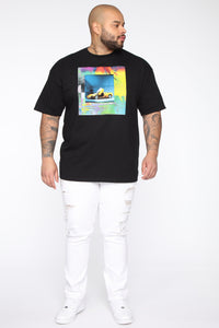 Stolen Whip Short Sleeve Tee - Black/combo Angle 8