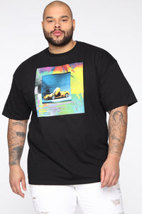 Stolen Whip Short Sleeve Tee - Black/combo Angle 7