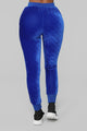 The OG Velvet Lounge Set - Royal Blue