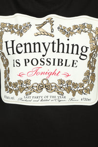 Hennything Is Possible LS Top - Black Angle 3