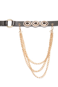 Spare Some Chain Belt - Gold