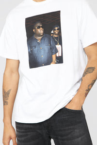 Biggie And Puff Short Sleeve Tee - White/Combo Angle 5