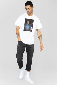 Biggie And Puff Short Sleeve Tee - White/Combo Angle 2