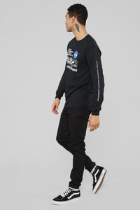 NASA Explore Long Sleeve Tee - Black/Combo