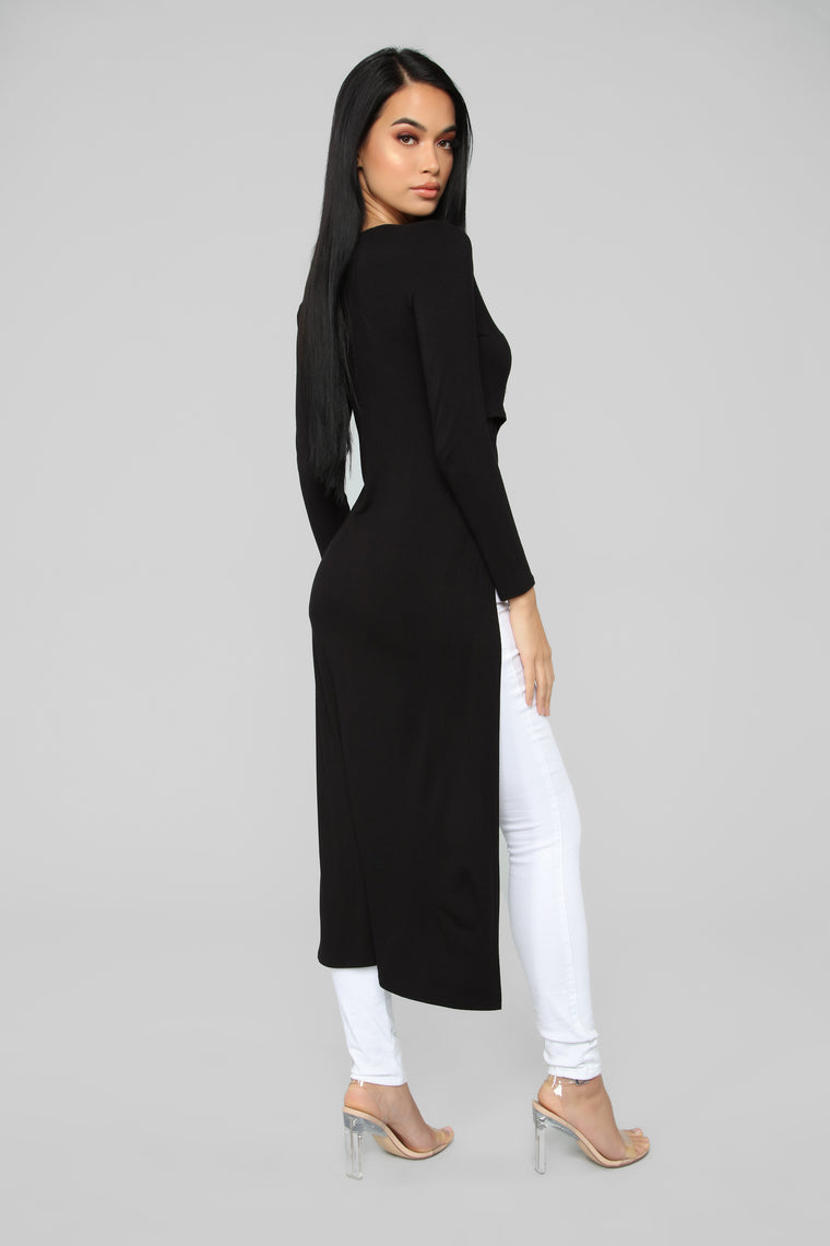 That's On Me Tunic - Black