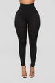 Gonna Tie Our Love Pant Set - Black