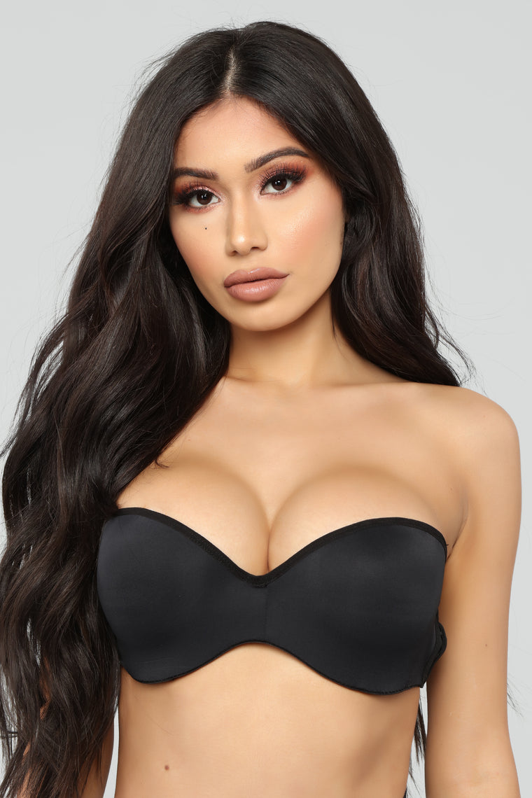 Nice And Easy Multi Way Strapless Bra - Black